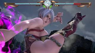 SOULCALIBUR VI E3 2018 Gameplay - Ivy vs Geralt (The Witcher)