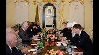 Патриарх Кирилл встретился с Председателем Государственного Совета и Совета Министров Кубы