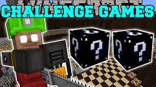 Minecraft: PSYCHO STEVE CHALLENGE GAMES - Lucky Block Mod - Modded Mini-Game
