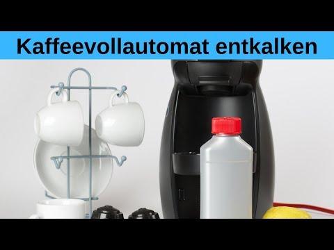 Wie oft Kaffeevollautomaten entkalken? - Bester Entkalker für Kaffeevollautomaten