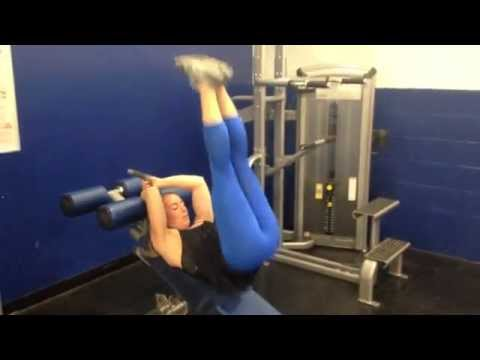 How To: Decline Bench Leg Raises