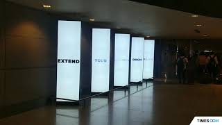 New digital display array calls out to travellers at Mumbai Airport