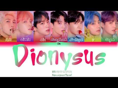 BTS (방탄소년단) - Dionysus [Кириллизация/RUS SUB]