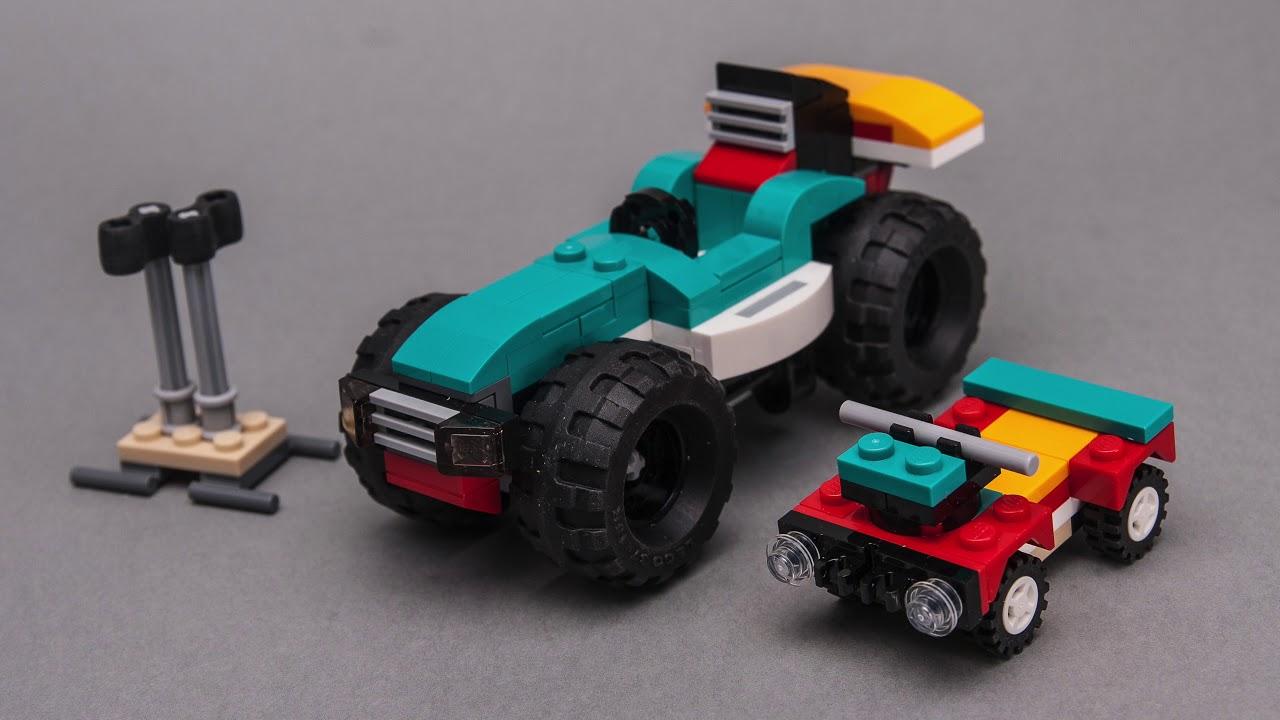 LEGO Creator 31101 alternative model tutorial