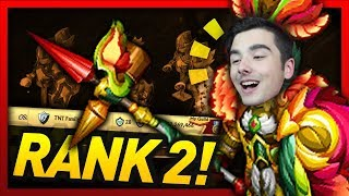 Knights and Dragons - THIS ARMOR IS CRAZY! RANK 2!!! Huitzilo Champion+ SF Power Leveling!