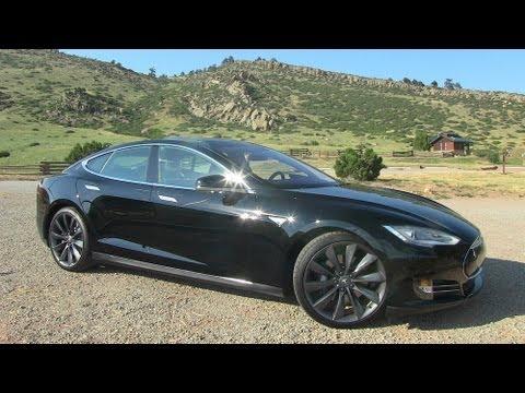 Tesla Model S P85 0-60 MPH Test Video