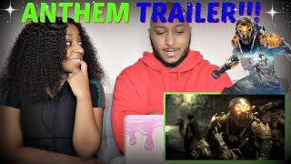 """""""Anthem"""" Official Cinematic Trailer (2018) REACTION!!!"""