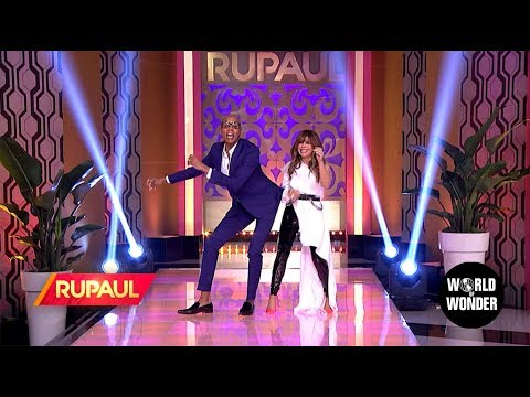 'RuPaul' with Paula Abdul!