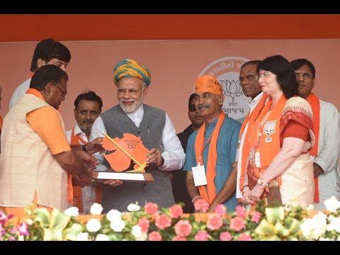PM Modi addresses Public Meeting in Sanand, Gujarat