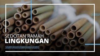 Peduli Lingkungan, Pengerajin Bali Buat Sedotan Ramah Lingkungan
