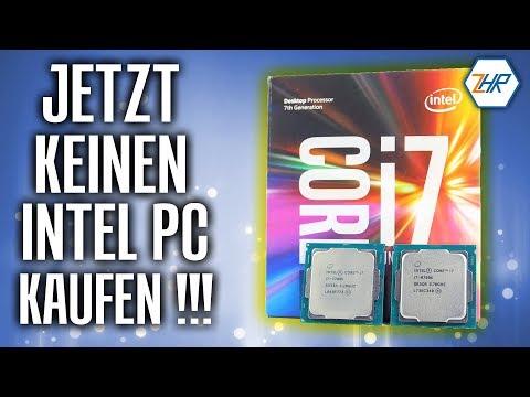 Warum du JETZT KEINEN INTEL PC kaufen solltest - Prozessor CPU Kaufberatung 2018