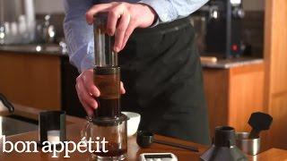 Bon Appetit/Stumptown Coffee Brew Guides: Aeropress