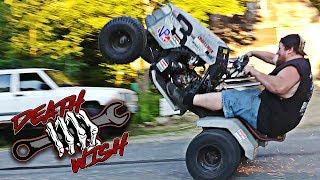 Street Bike Powered Lawn Mower - Deathwish EP1