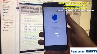 Meizu m3 note Hard Reset remove password AND FRP With MRT