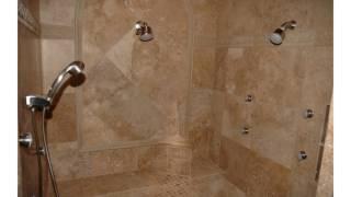 Diseño de la ducha del azulejo del cuarto de baño
