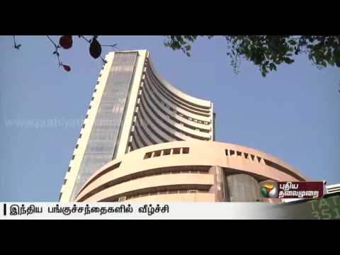 Sensex-on-a-downward-trend