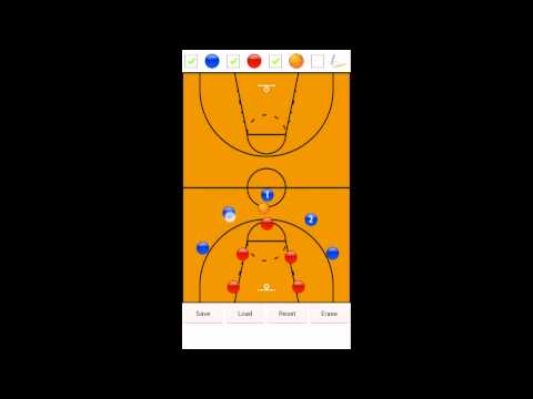 Video of Basketball Strategy Board