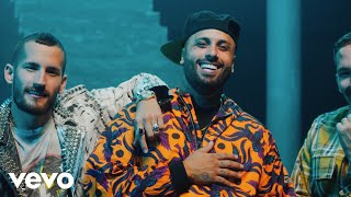 Mau Y Ricky, Nicky Jam   BOTA FUEGO (Official Video)
