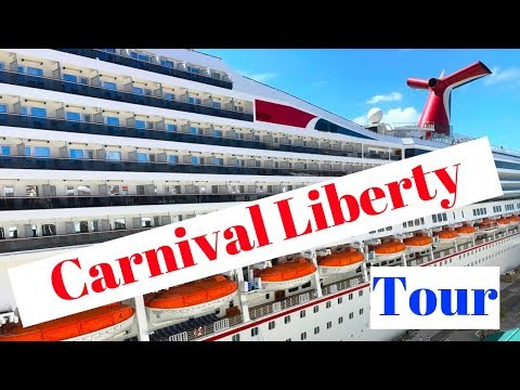 Carnival Liberty Tour and Review (2018)