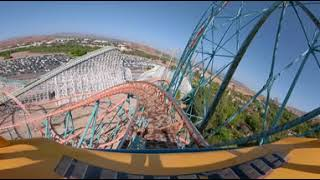 Trippy Roller Coaster ride VR 360