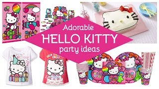 51 Adorable Hello Kitty Party Ideas & Supplies!