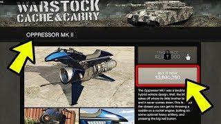 GTA 5 ONLINE NEW OPPRESSOR MKII & TERRORBYTE RELEASED NEXT WEEK! (GTA 5 Update)