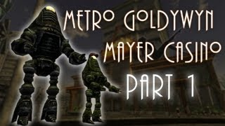 Fallout New Vegas Mods: Metro Goldwyn Mayer Casino - Part 1