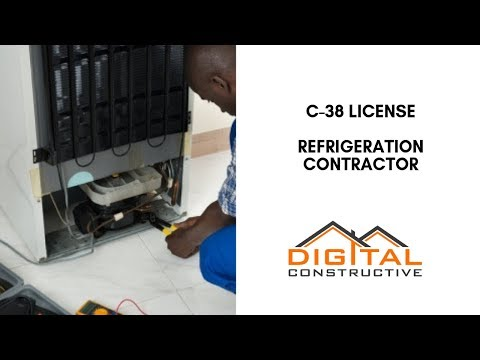 C-38 Refrigeration License: The #1 Online Guide To The CSLB for ...