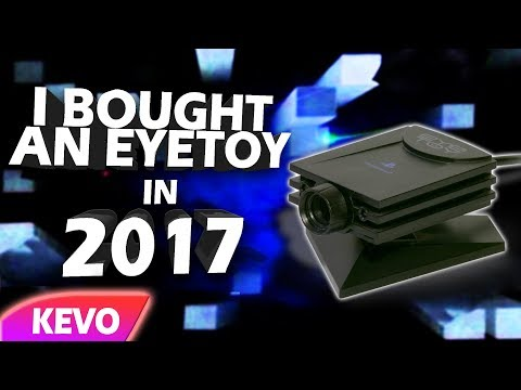 I bought an EyeToy in 2017