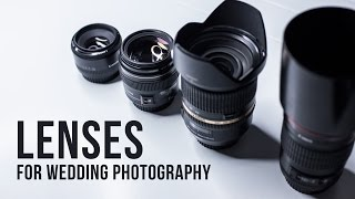 Essential LENSES and GEAR for WEDDING PHOTOGRAPHY