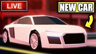 Jailbreak LIVE  NEW AUDI R8 CAR & SEASON 3 UPDATE LEAKS! | New Update This Week | Roblox Jailbreak