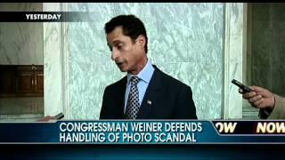 Unedited Video: Rep. Weiner Defends Handling of Photo Scandal
