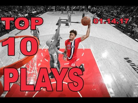 Top 10 NBA Plays of the Night: 01.14.17