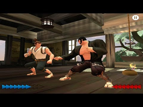 karateka ios gameplay