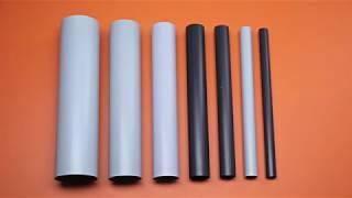 Жесткие трубы из ПВХ. Описание и технические характеристики.