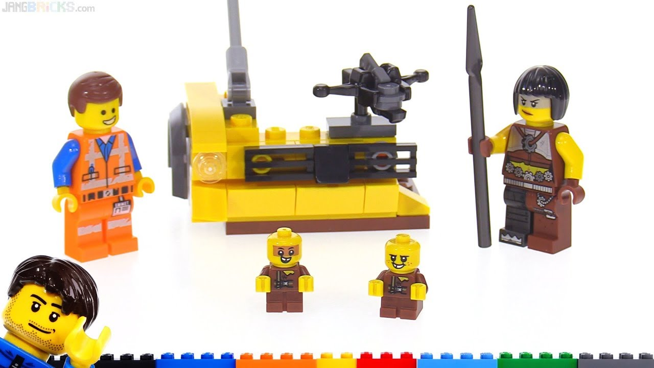 LEGO Movie 2 Sewer Babies ‼ Accessory Set review 853865