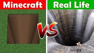 WAY TO NETHER IN REAL LIFE! Minecraft vs Real Life animation CHALLENGE