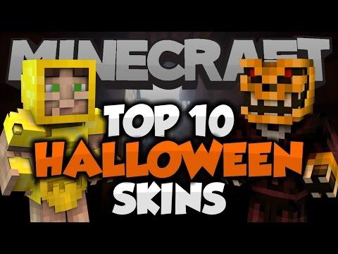 Top 10 Minecraft HALLOWEEN SKINS! (Minecraft 1 8 8) - 2015 - Best