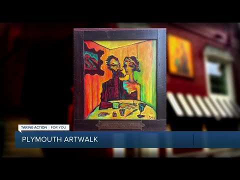 Art goes outdoors with the Plymouth ArtWalk