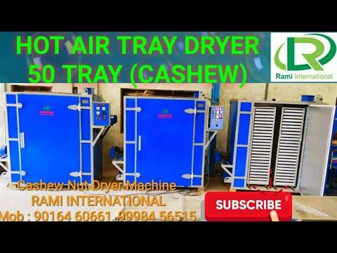 Cashew Oven Dryer 250 Kg Capacity