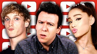 Logan Paul Mural Controversy, Problem w/ $$$ and News on YouTube, Russia Reebok Backlash, & More...