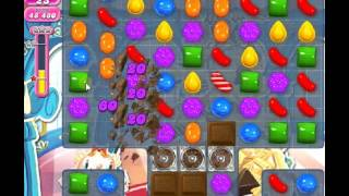 How to beat Candy Crush Saga Level 485 - 1 Stars - No Boosters - 69,940pts