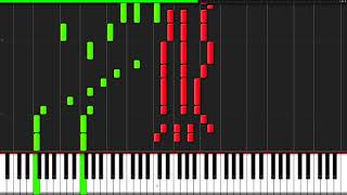 Christmas Medley [Piano Tutorial] (Synthesia) // YoungMin You