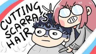 CUTTING SCARRA'S HAIR ✂