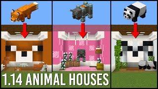 17 Animal House Designs in Minecraft 1.14