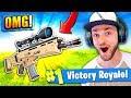 The SNIPER SCAR in Fortnite: Battle Royale!