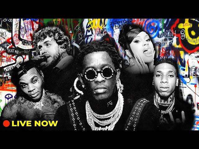 Rap Live Radio 24/7 | Hip Hop, Best Hype & Popular Rap Music by Lil Uzi Vert, Roddy Ricch & more!