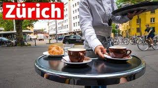 Zurich Neighborhood Tour - Living in Switzerland, Morning Swiss Coffee!