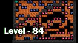 Diamond mine level 84 collected all 30 diamonds