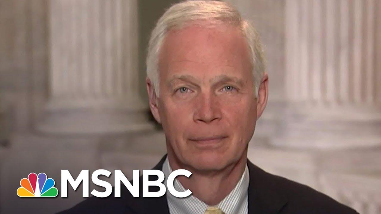 Ron Johnson: 'I Wish Judge Roy Moore Would Resign' | MTP Daily | MSNBC thumbnail